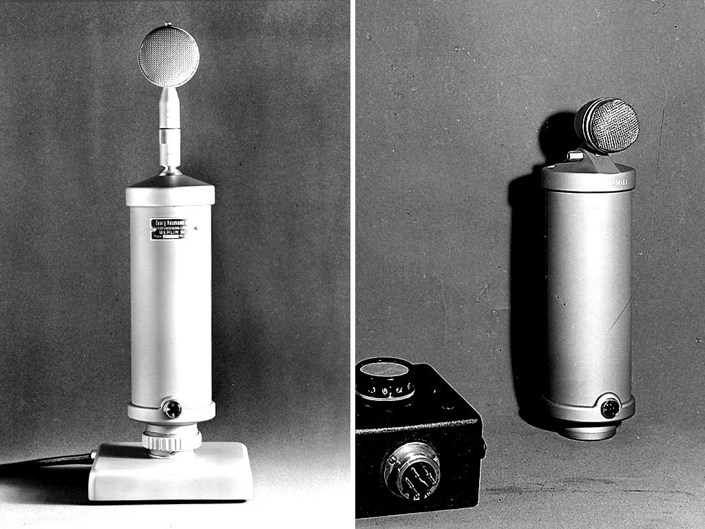 世界初のコンデンサーマイク「CMV3」