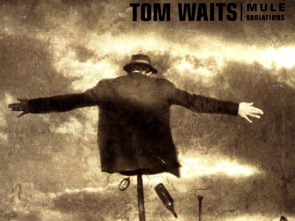 トム・ウェイツのアルバム「ミュール・バリエーション」のカバーアート。