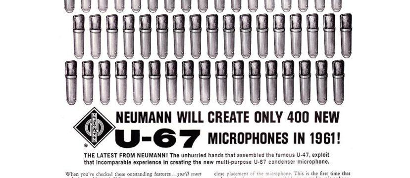 ゲオルグ・ノイマンの偉大なる仕事(後編): U47からU87へと続く変革と革新