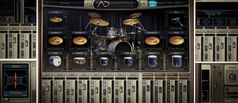 Addictive Drums内の設定だけで「Addictive Drums感」を消す方法