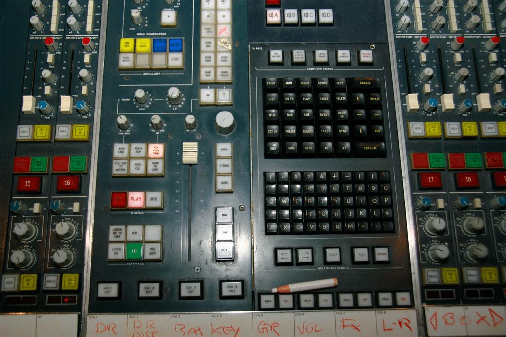 SL4000Aのキーボード部