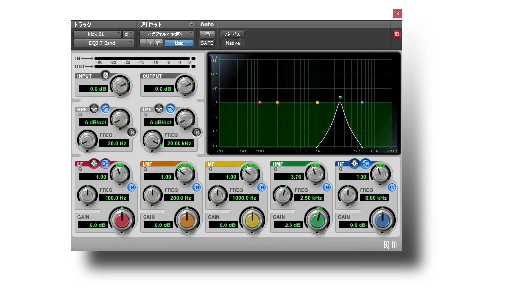 特定の周波数帯をソロ再生する方法