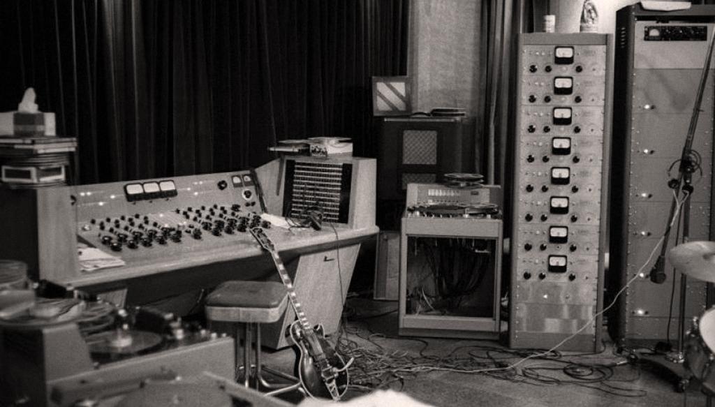 レス・ポールのプライベート・スタジオ