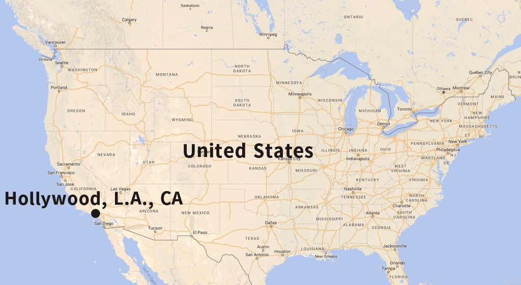 カリフォルニア州ハリウッド
