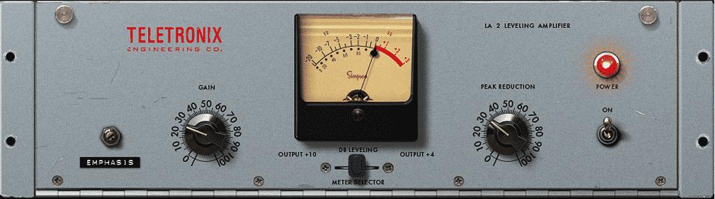 Universal Audio LA-2 プラグイン
