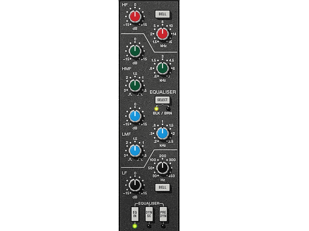 SSL Channel Strip EQ