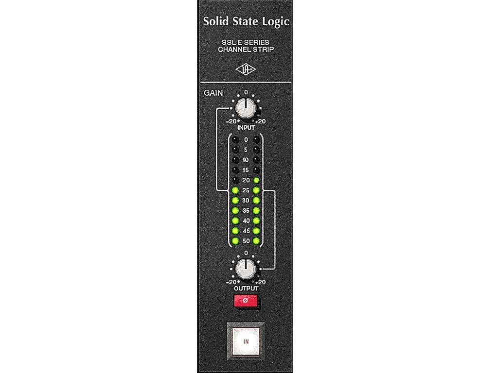 SSL Channel Strip ボリューム・メーター