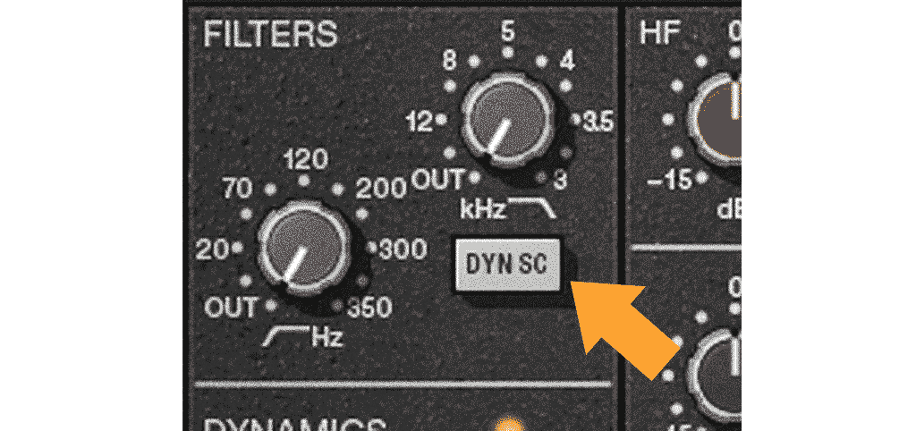 SSL DYN SC フィルター
