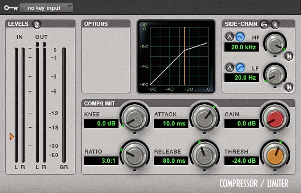Pro Tools Dyn3 Compressor/Limiter