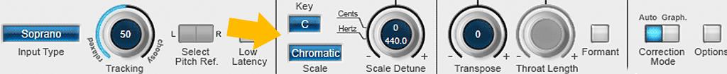 Auto-Tune-8の使い方-スケール