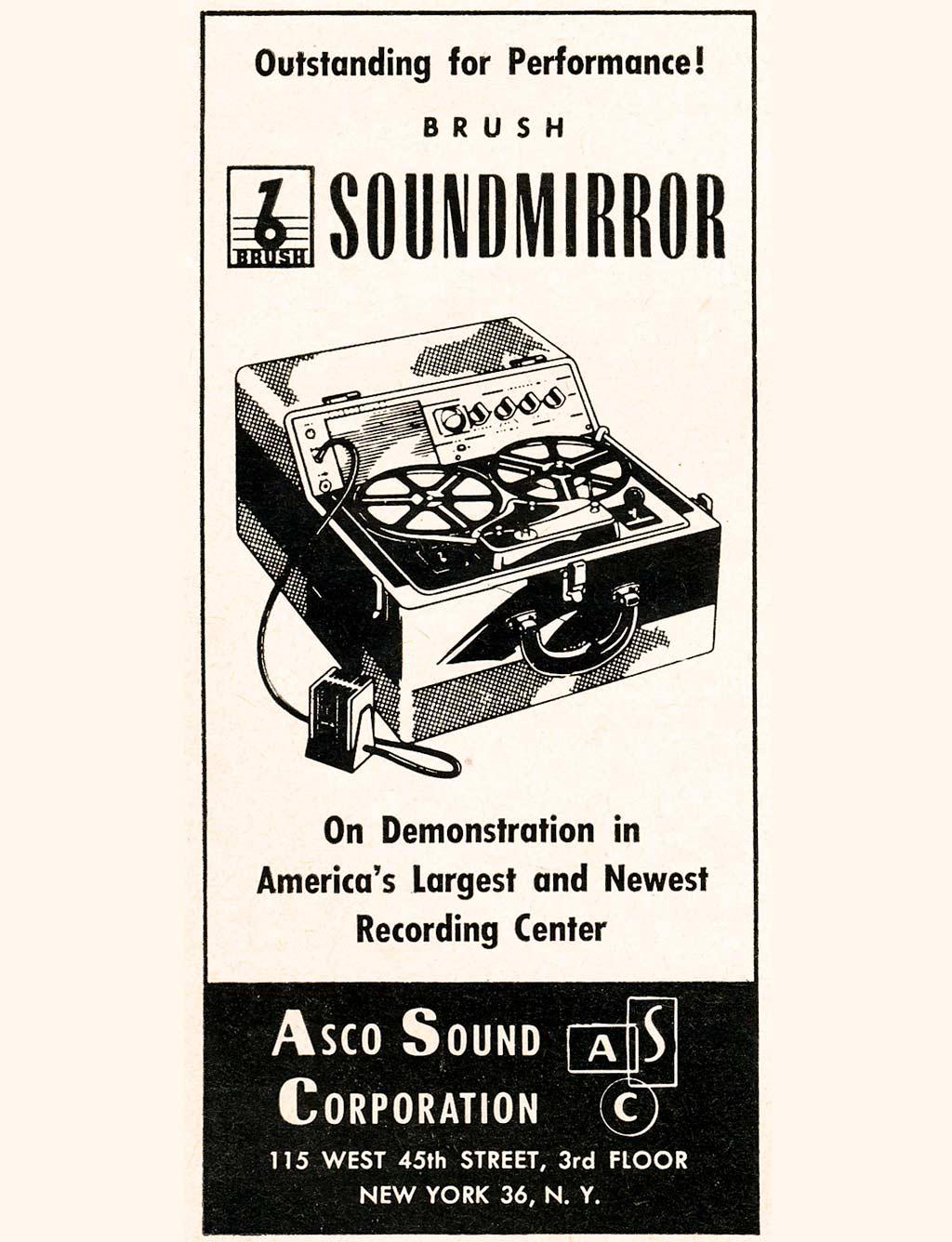 Studerの歴史:Soundmirror