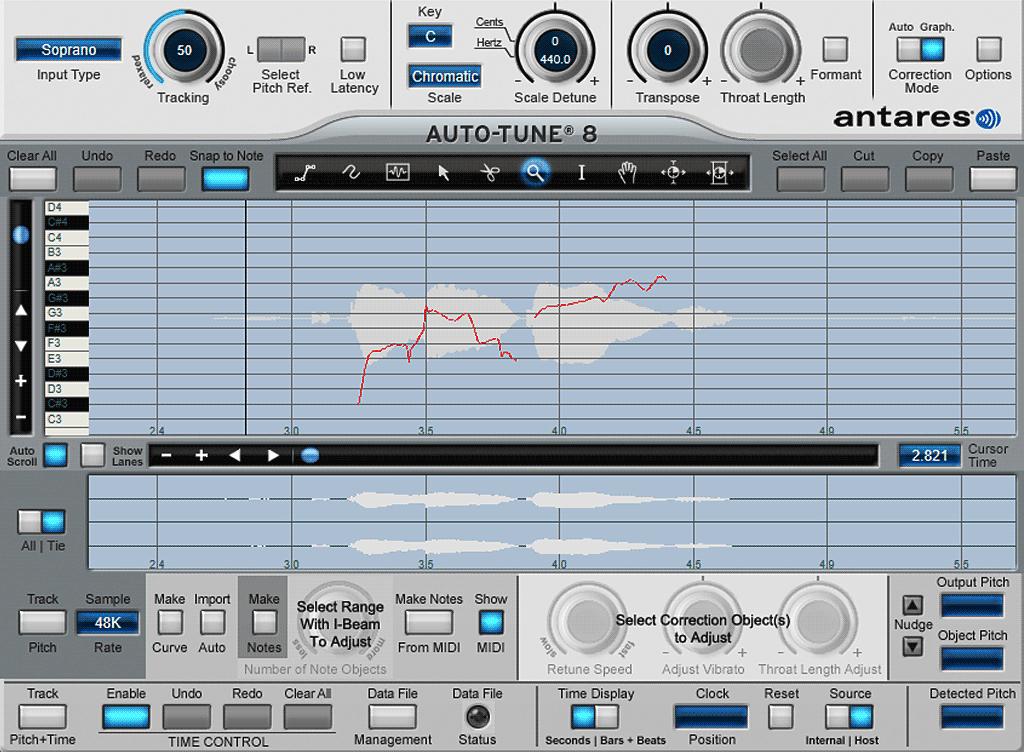 Auto-Tune-8の使い方07-オーディオ読み込み