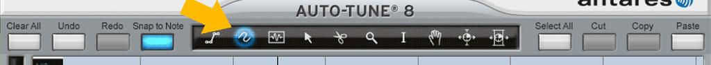 Auto-Tune-8の使い方-曲線ツール