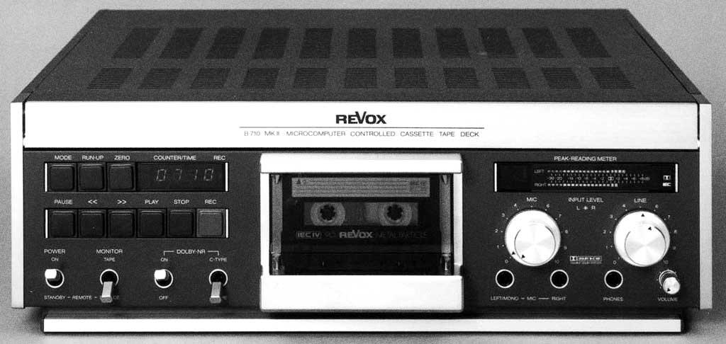 Studerの歴史:Revox B700