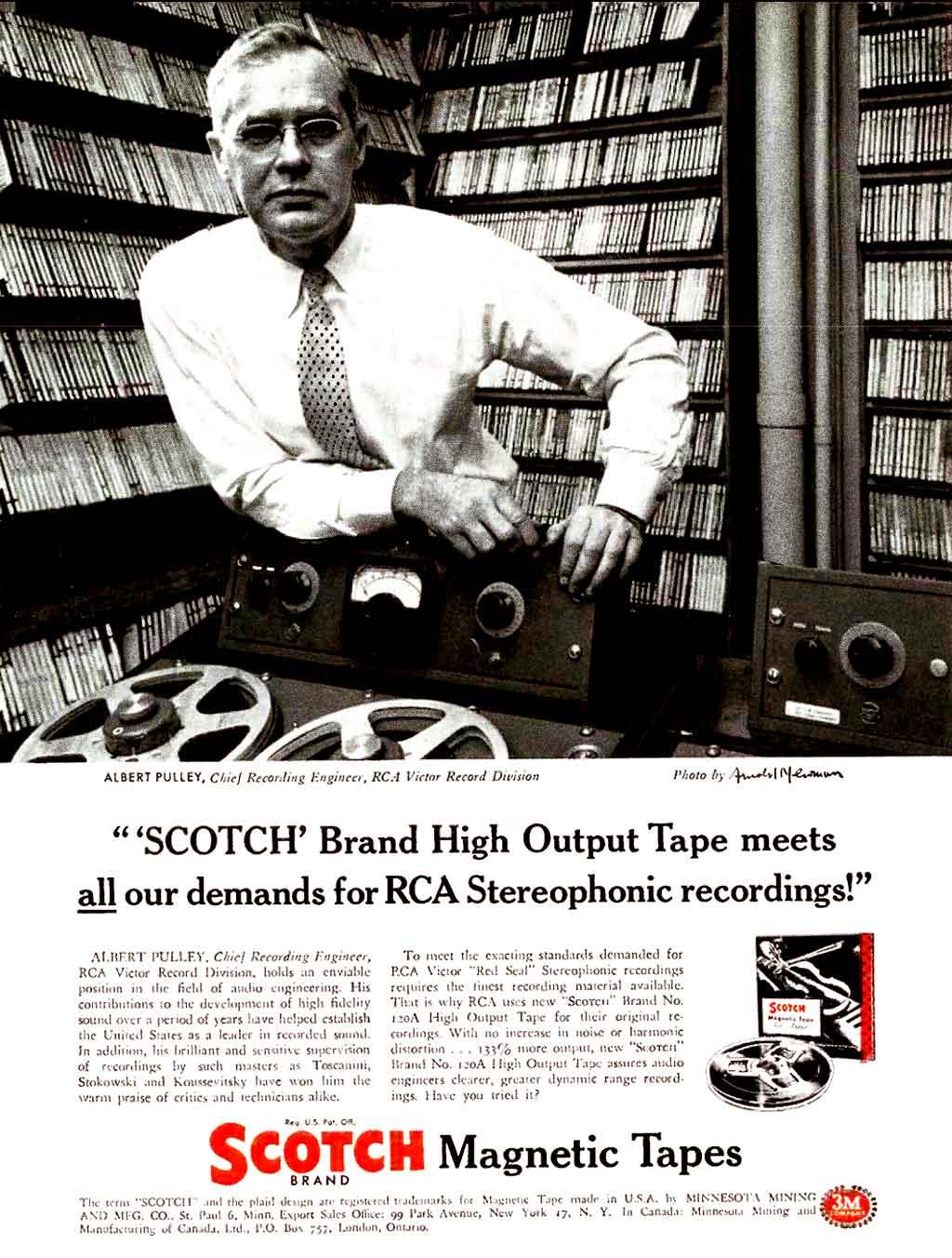 Studerの歴史:SCOTCH磁気テープ