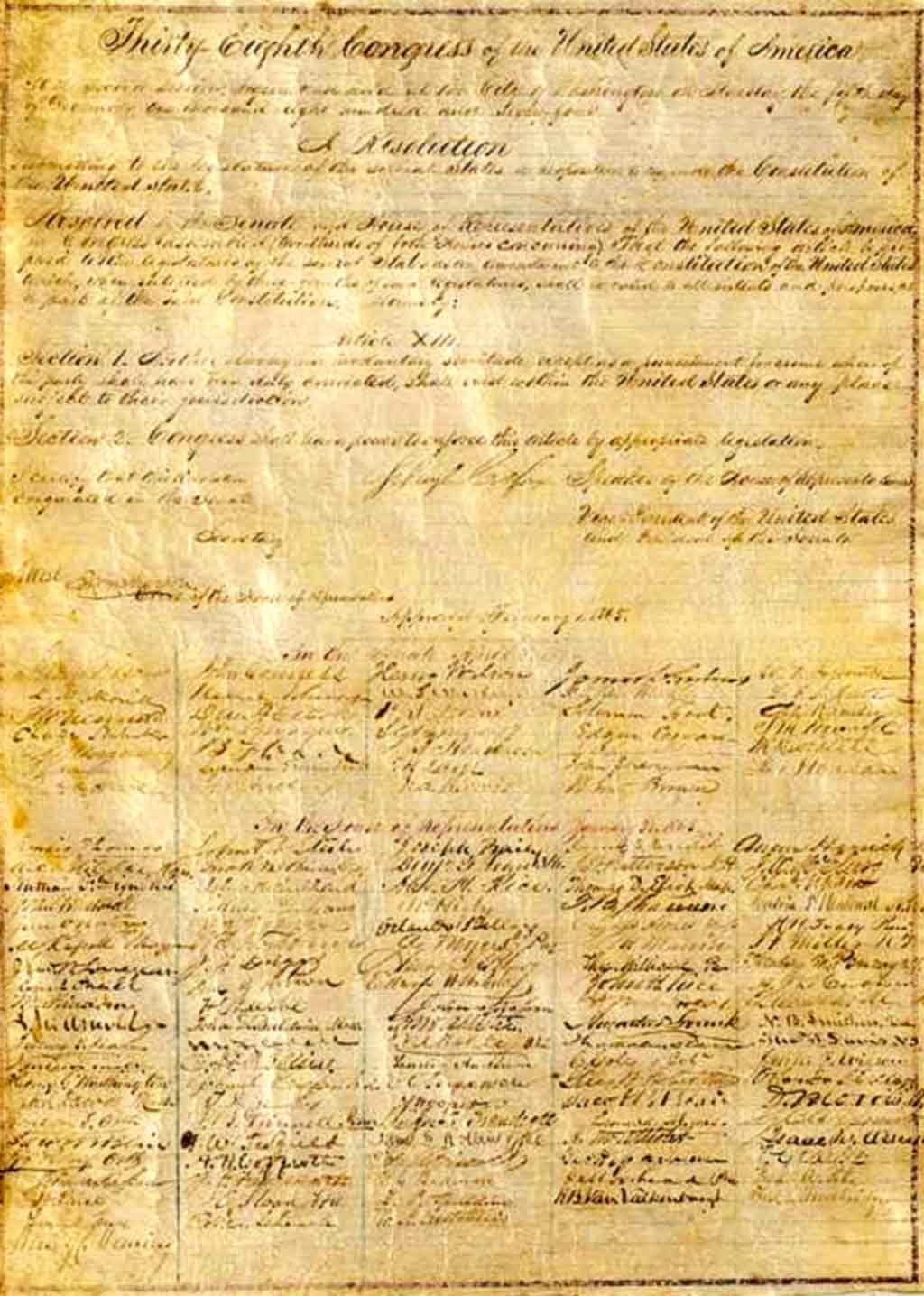 憲法修正第13条