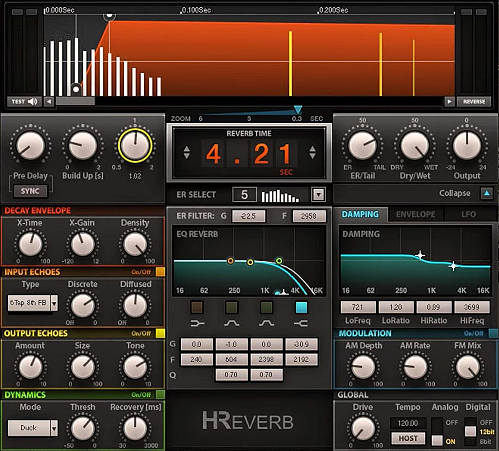 "Waves ""H-Reverb"""
