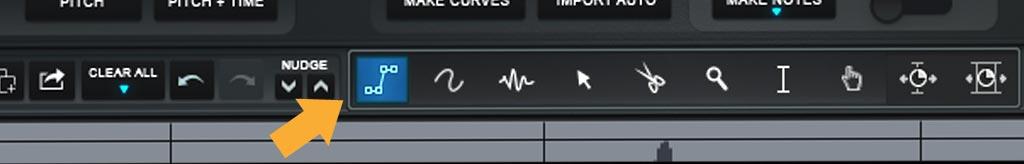 Auto-Tune Pro : ラインツール