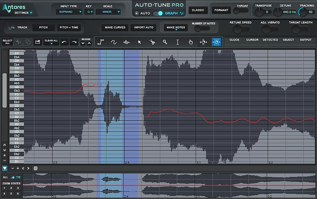Auto-Tune Pro : 自然なタイミング補正