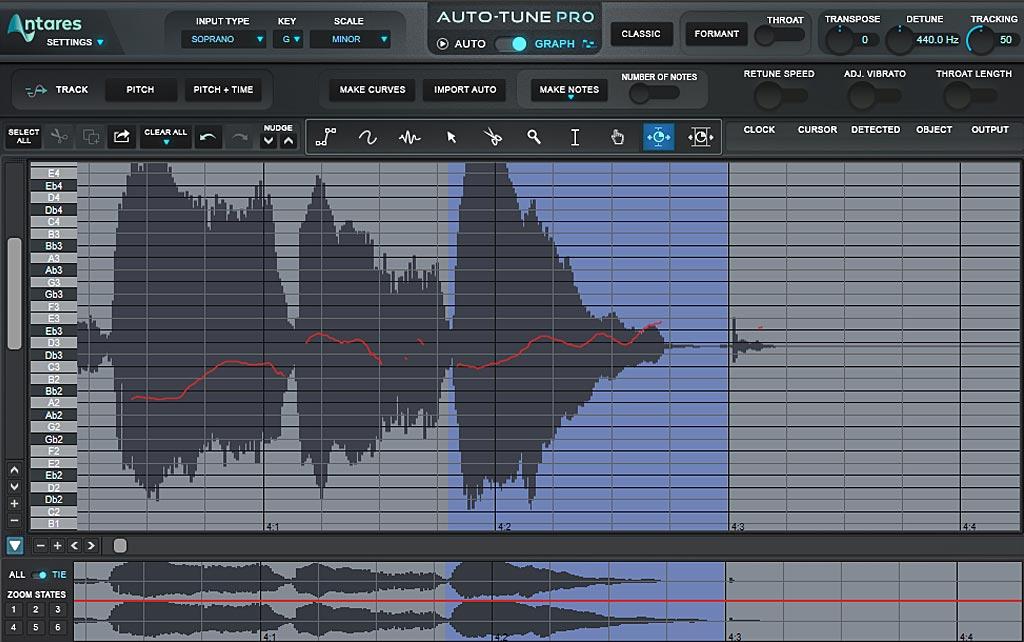 ボーカルのタイミングを縮める方法