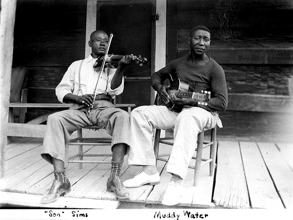 "Muddy Waters と Henry ""Son"" Sims (1941)"